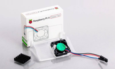 Raspberry Pi 4 Ventilador de caja