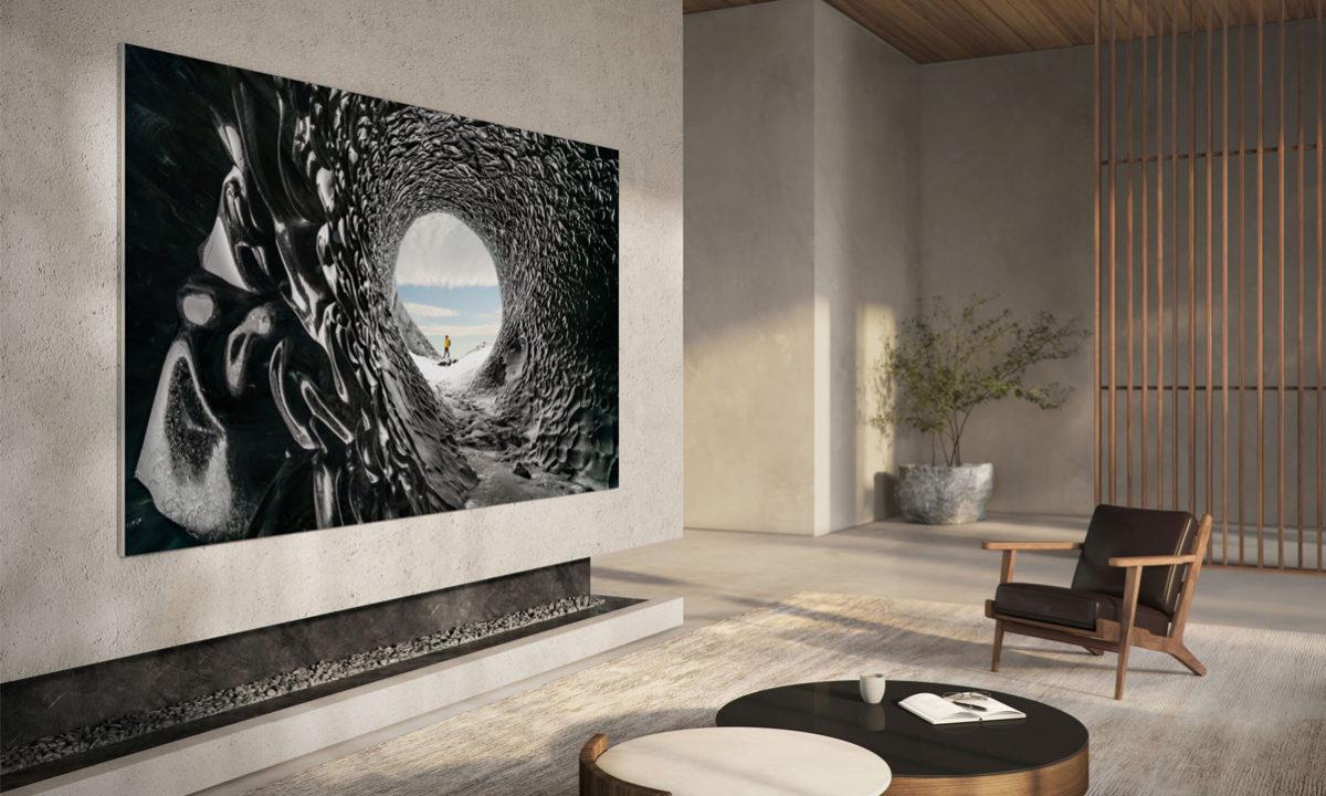 Samsung MicroLED The Wall televisor 110 pulgadas