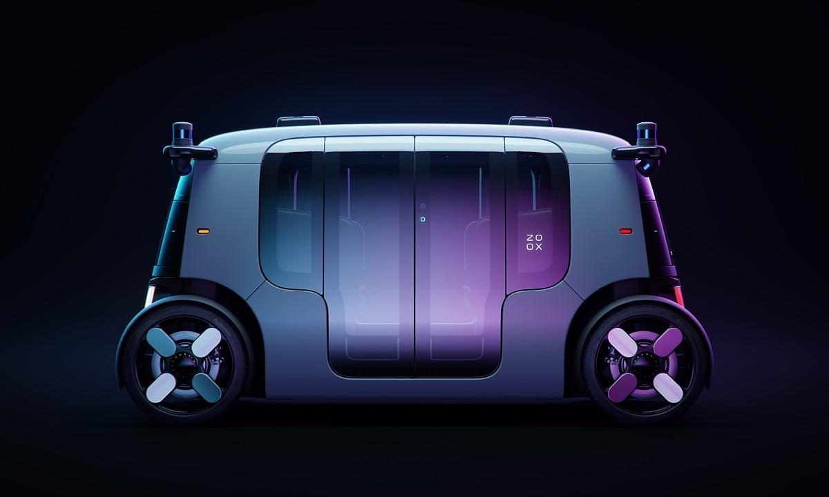 Amazon presenta el robotaxi de Zoox 30