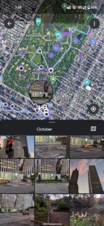 La línea de tiempo de Google Maps llega a Google Fotos 28