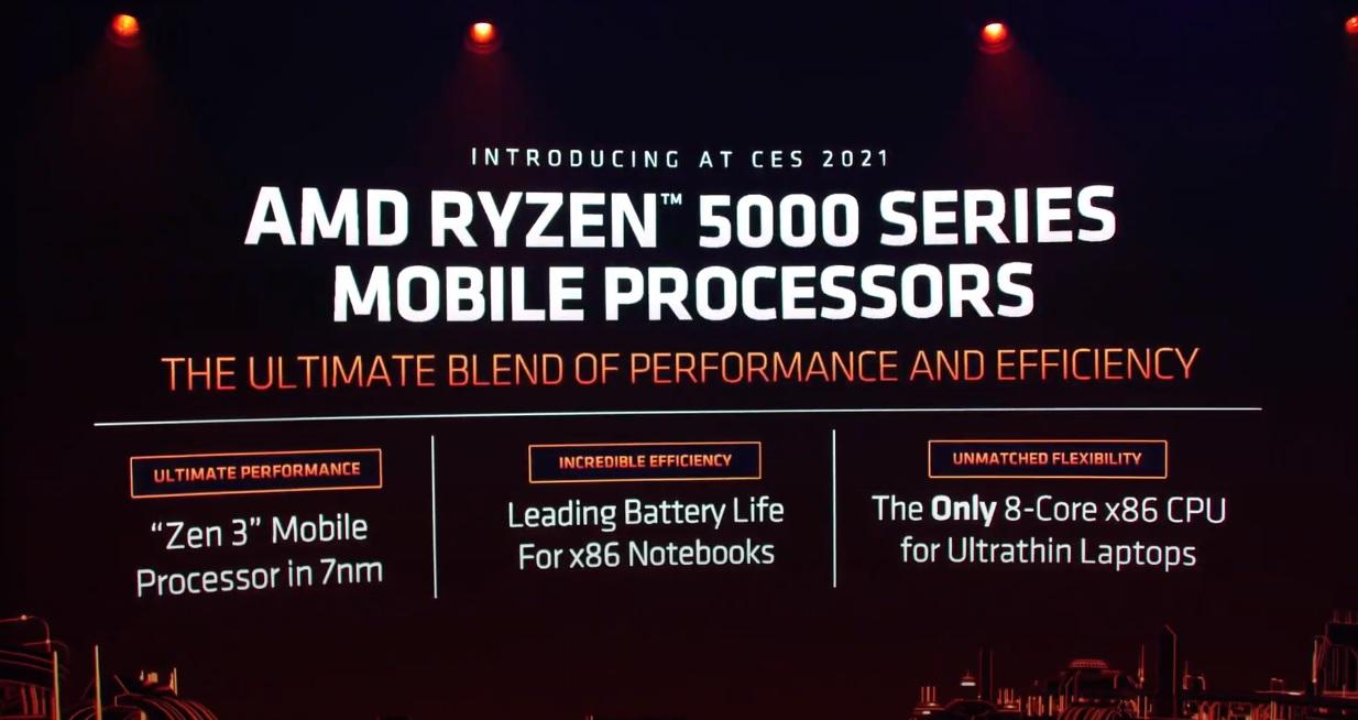 AMD presenta los nuevos Ryzen 5000 Mobile y Ryzen 5000HX basados en Zen 3 31