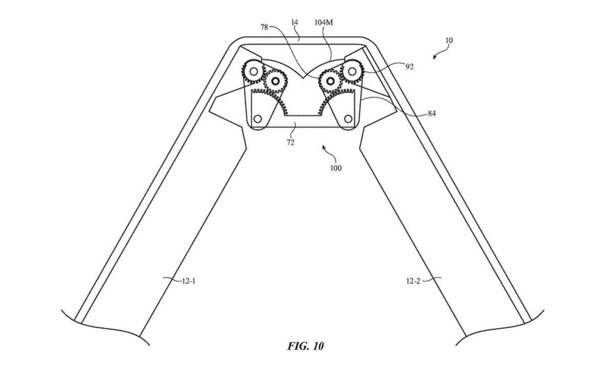 Apple Patente iPhone plegable