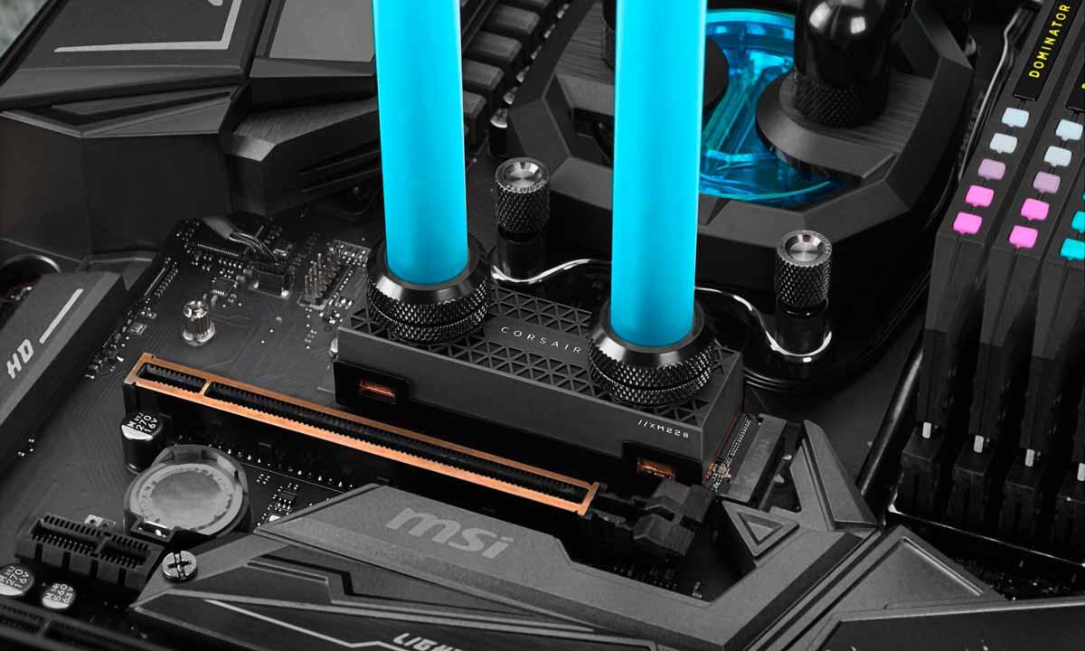 Corsair MP600 CORE, MP600 PRO y MP600 PRO Hydro X: SSD PCIe Gen4 para todos los gustos