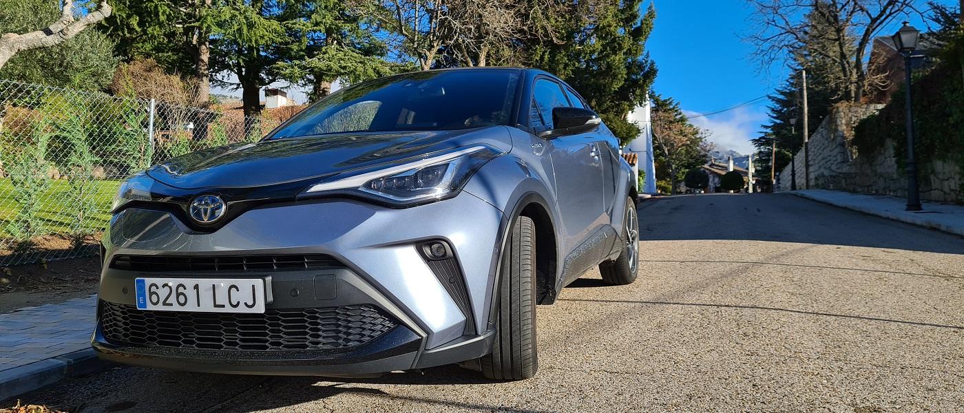 Toyota C-HR 180H, intensidad 28