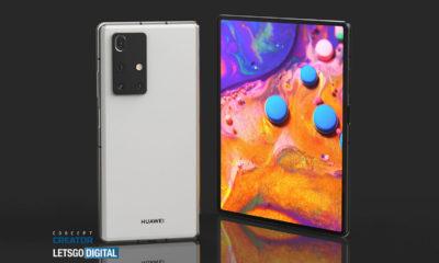 Huawei Mate X2 pantalla flexible innie