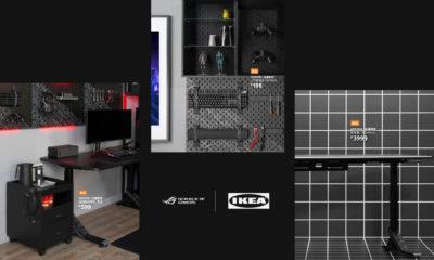 IKEA Gaming ASUS ROG