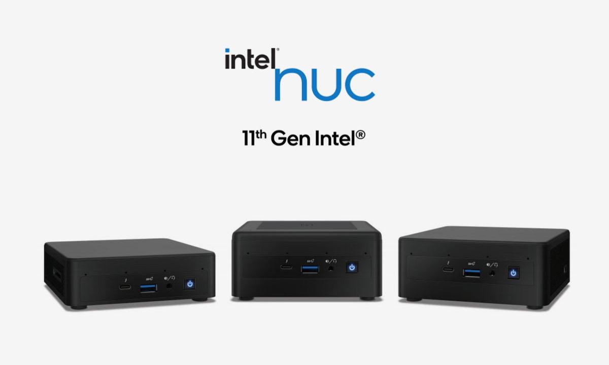 Intel NUC 11 Tiger Lake-U Mini PC