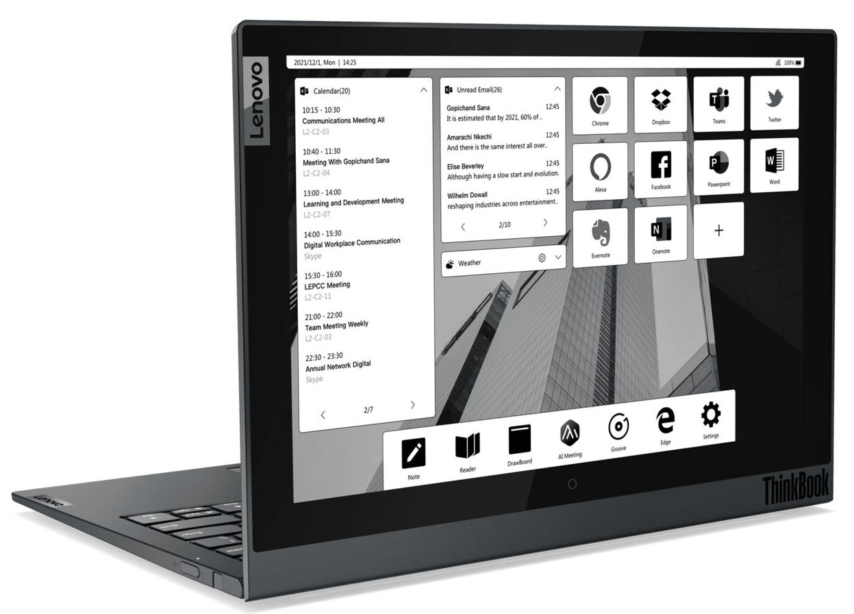 Lenovo updates its ThinkBook laptops based on the new Ryzen Mobile 36