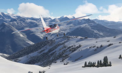 Microsoft Flight Simulator Nieve Live Weather