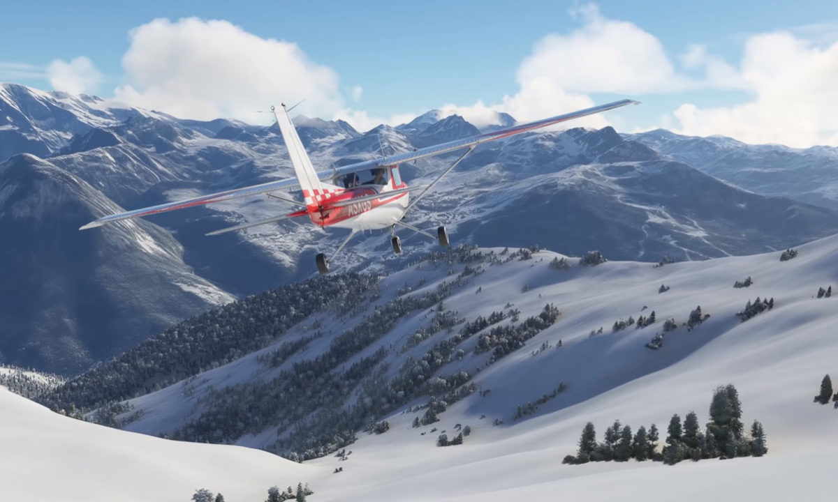 Microsoft Flight Simulator Nieve Live Weather