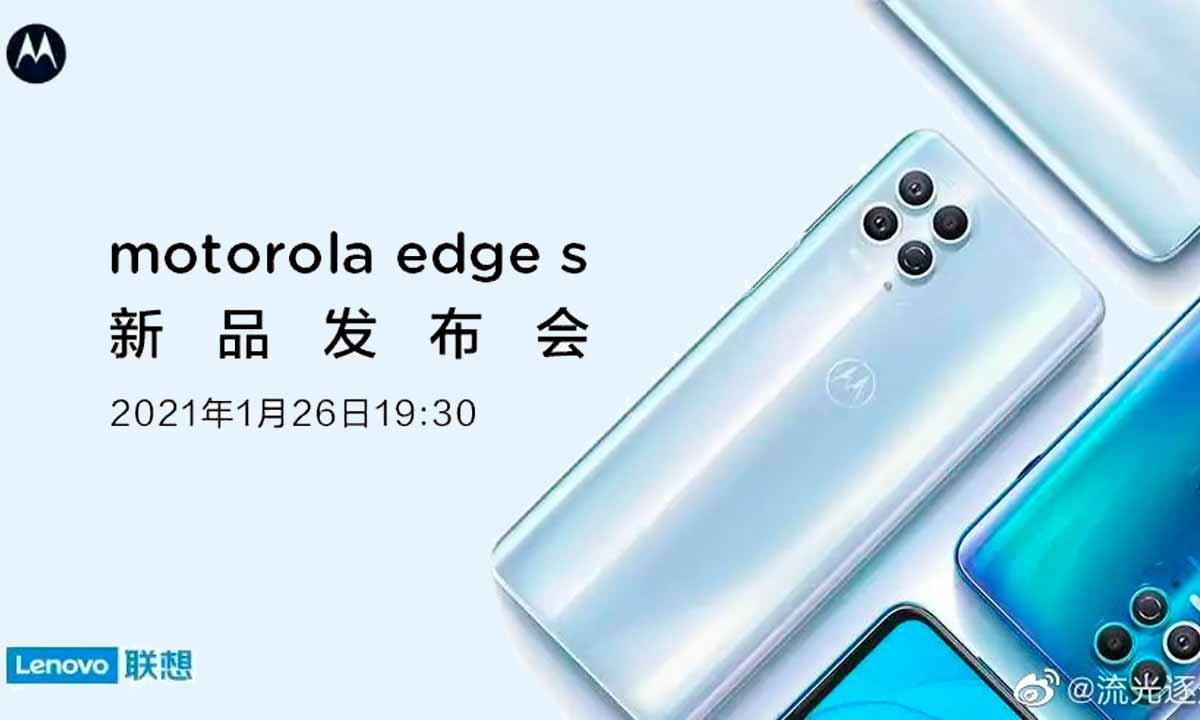 Moto Edge S: filtradas dos fotos del nuevo gama alta de Motorola