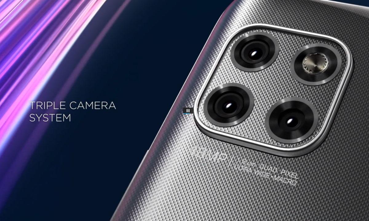 Motorola One 5G Ace Camara