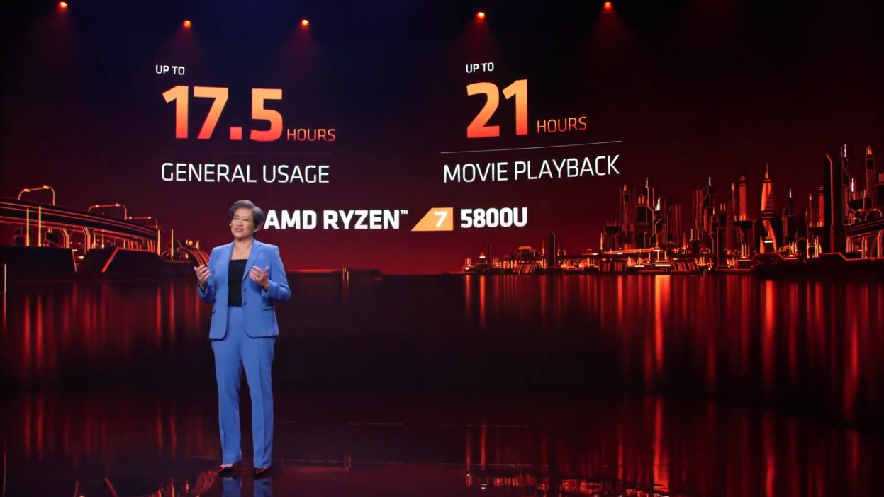AMD Introduces New Ryzen 5000 Mobile and Ryzen 5000HX Based on Zen 3 37