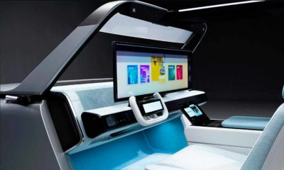 Samsung muestra su cabina digital para coches