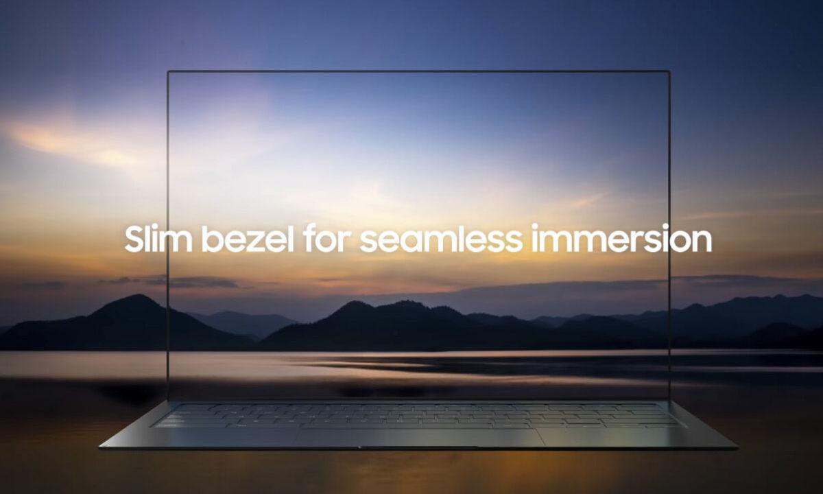 Samsung Blade Bezel camara bajo pantalla