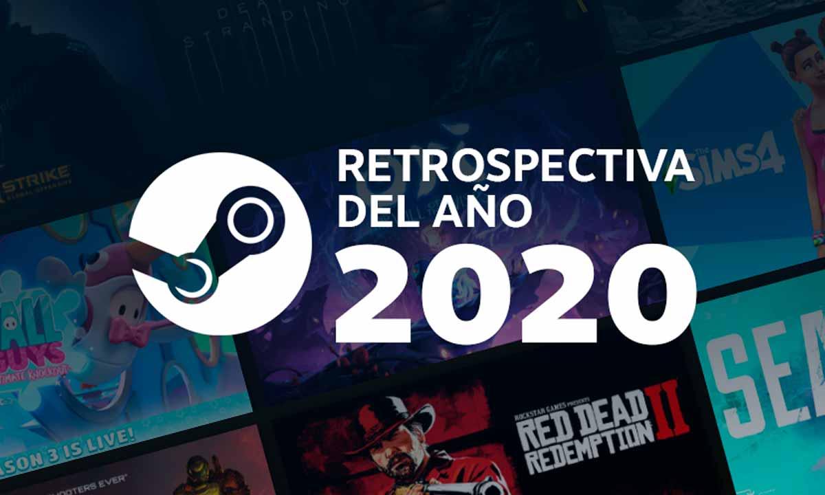 Steam: 2020 ha sido un gran año para los juegos y la realidad virtual