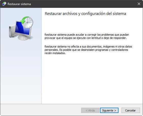 System Restore, un salvavidas contra los fallos de Windows 10 37