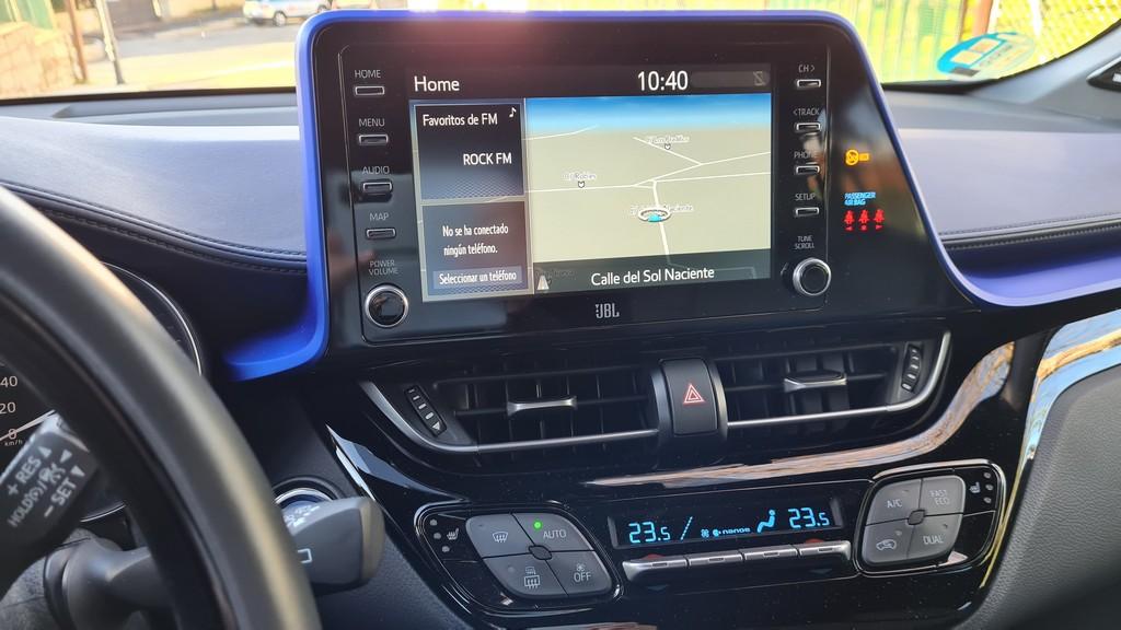 Toyota C-HR 180H, intensidad 34