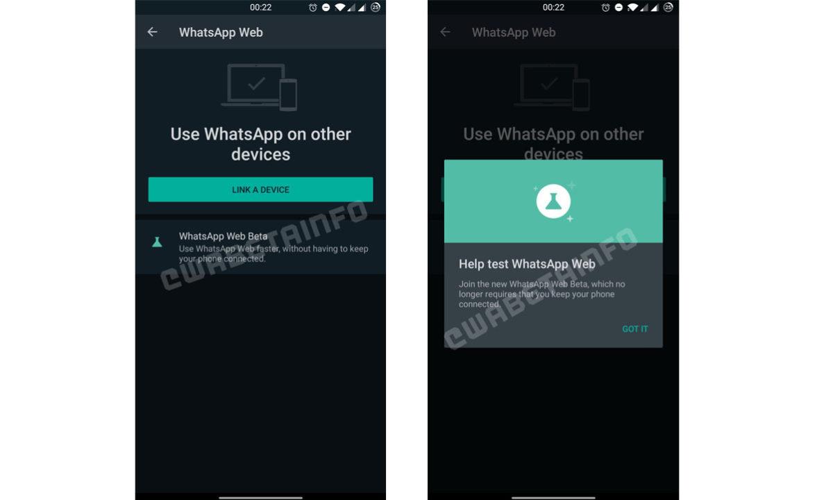 WhatsApp Web Multidispositivo