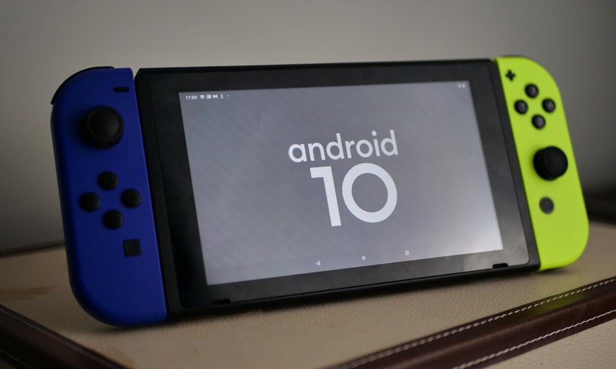 Android 10 en Nintendo Switch
