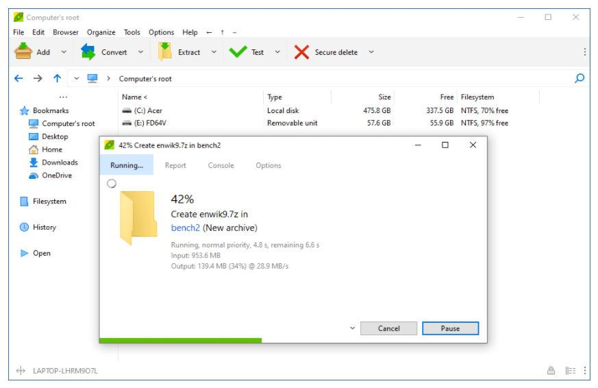 El mejor software de compresión de archivos para PC 33