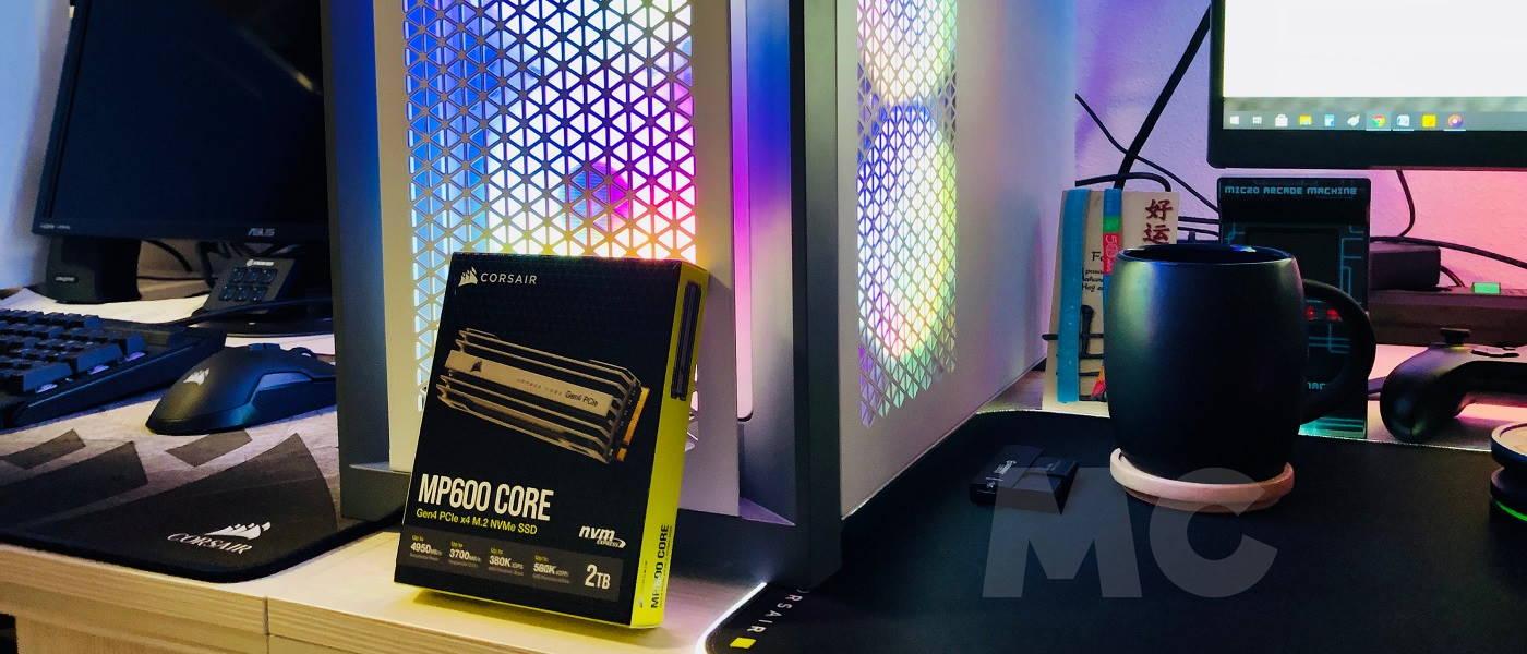 Corsair MP600 Core, análisis: democratizando la nueva generación 30