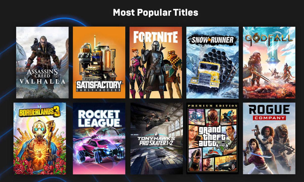 Epic Games Store juegos