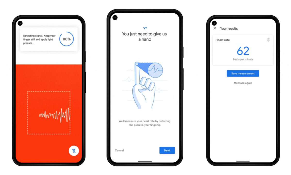 Image result for Google's Pixels will read your heart rate and respiratory rate