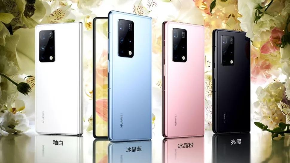 Couleurs du Huawei Mate X2
