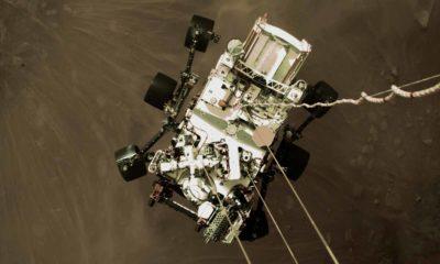 Mars Perseverance: así fue su aterrizaje en Marte