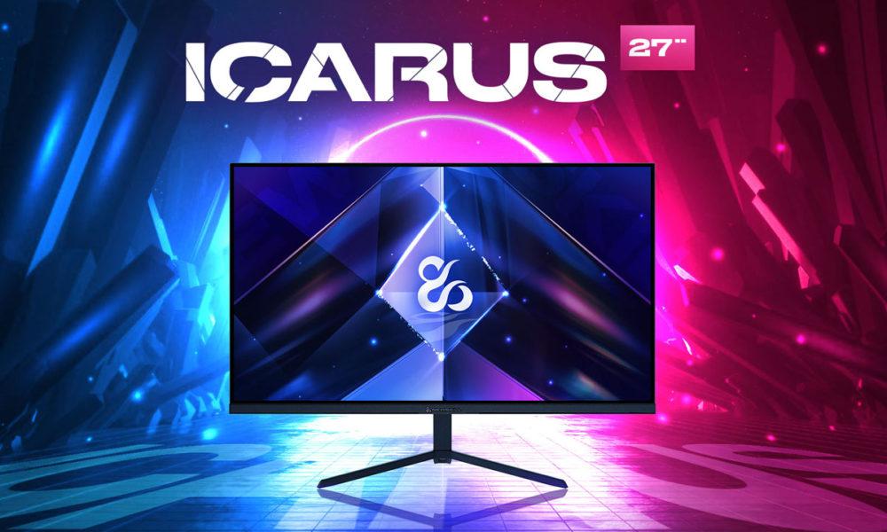Newskill Icarus amplía su gama de monitores gaming con un modelo más asequible
