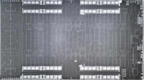 PS5 SoC Processor photographed detail