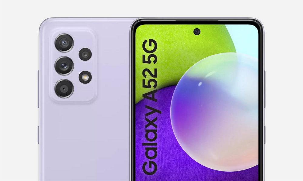 El Galaxy A52 5G muestra sus características completas