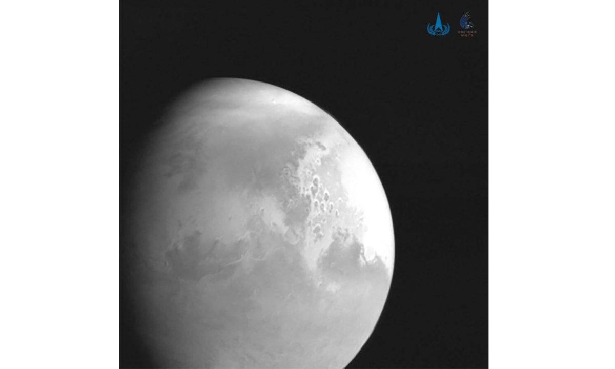 Tianwen-1 fotografía Marte