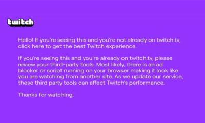 ¿Qué es el pantallazo morado de Twitch? ¿Por qué lo estás viendo?