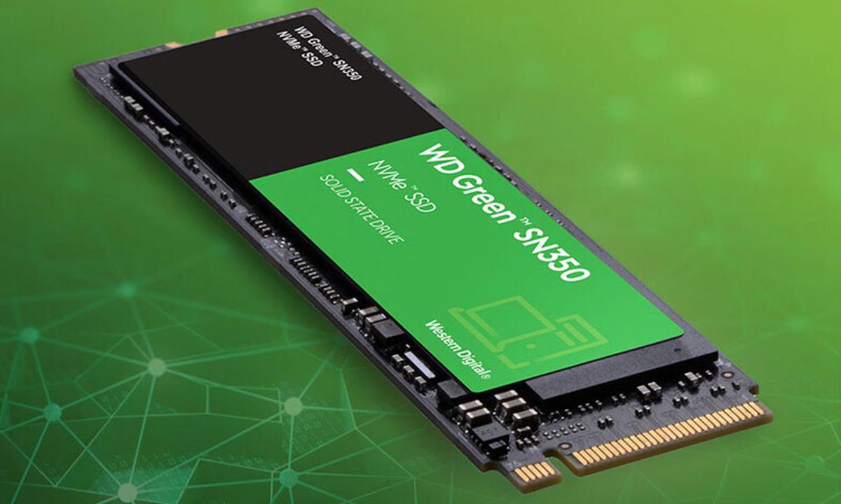 WD Green SN350, una SSD PCIe que destaca por su bajo precio