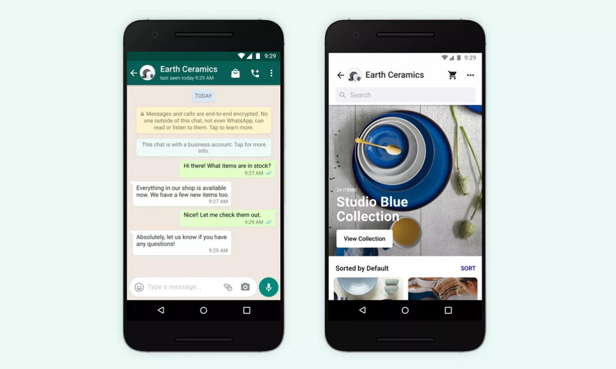 WhatsApp Business Política de privacidad
