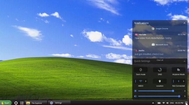 Windows XP 2021 muestra cómo podría ser un Windows 10 más atractivo 31