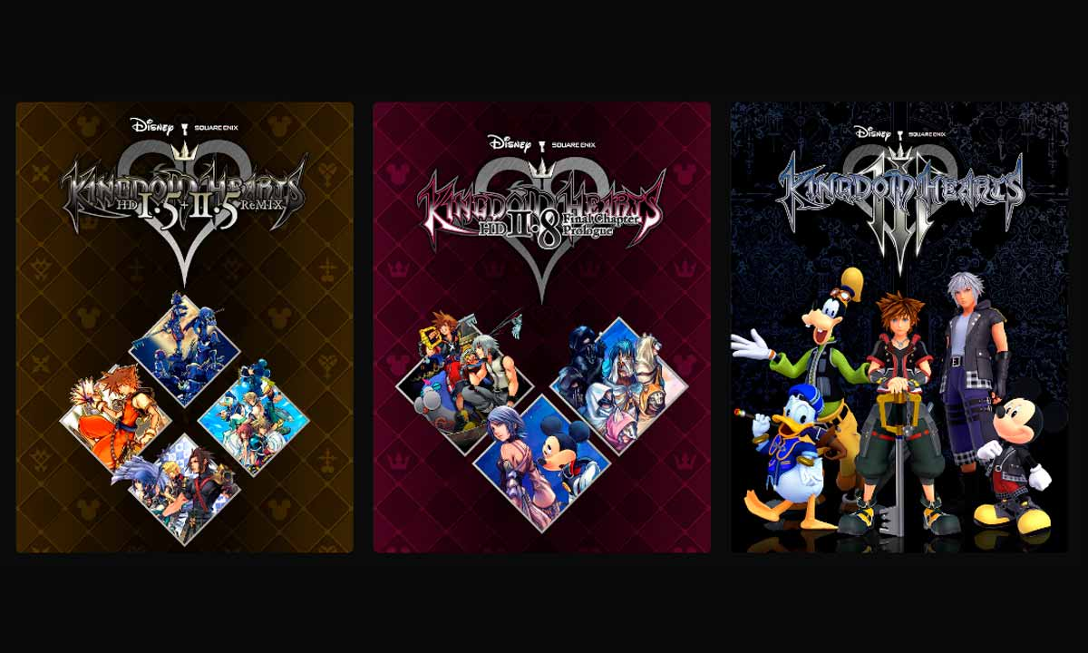 Kingdom Hearts para PC pronto será una realidad en Epic Games Store