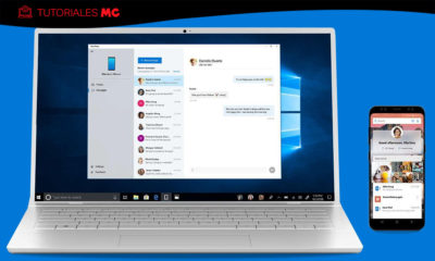 móvil Android en Windows 10