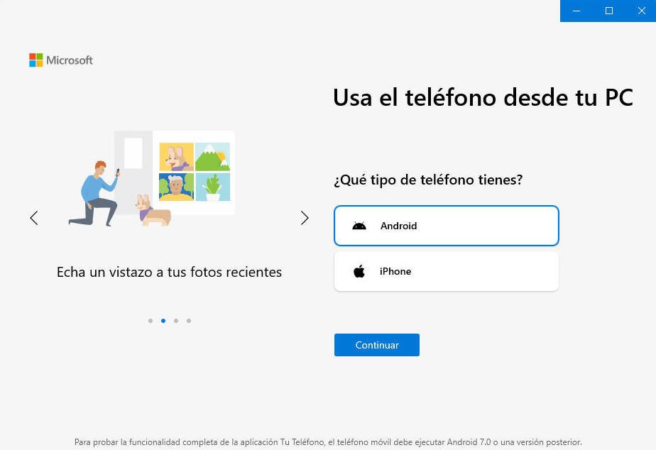 ¿Qué se puede hacer con un móvil Android en Windows 10? 37