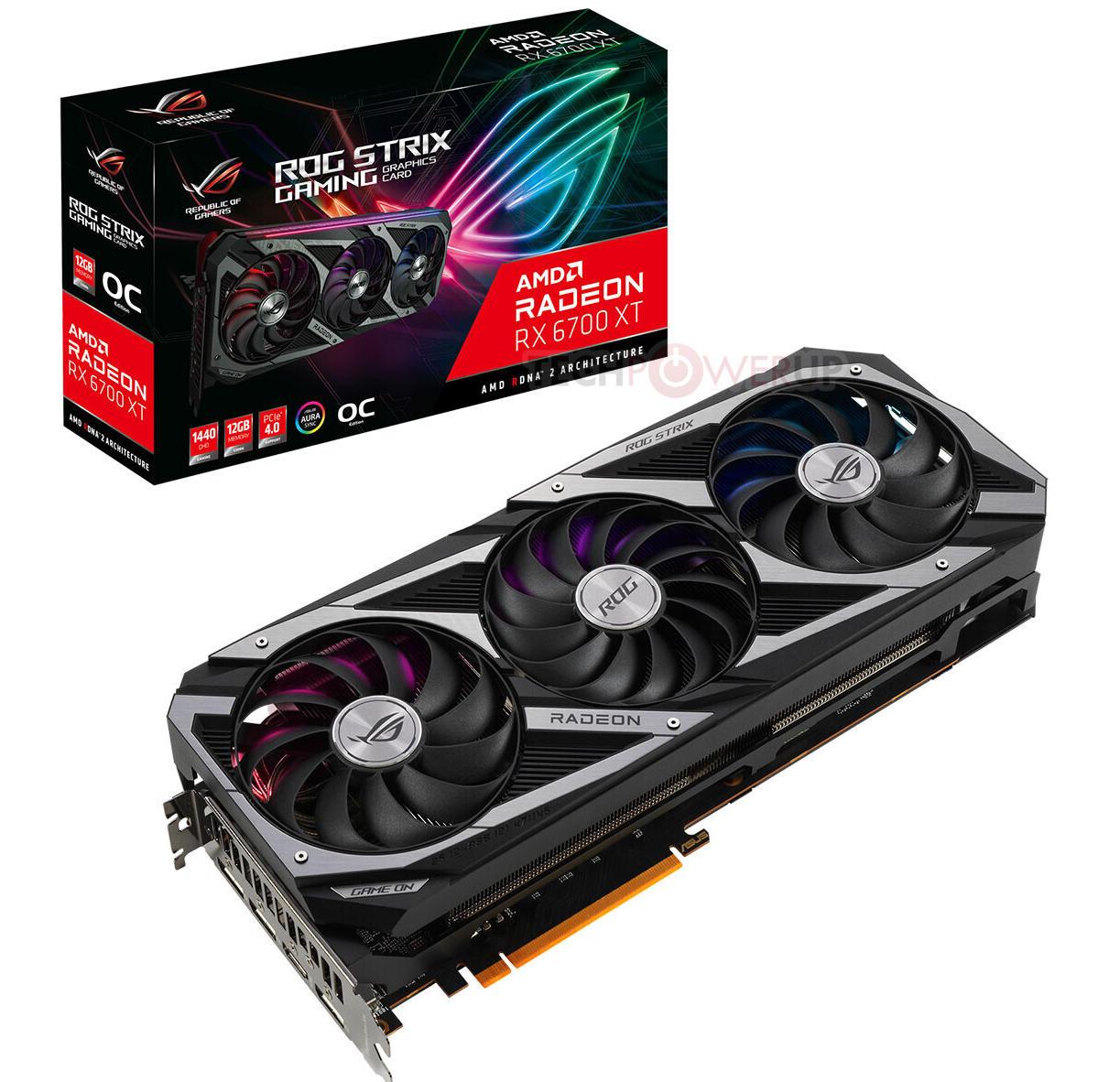 ASUS Radeon RX 6700 XT