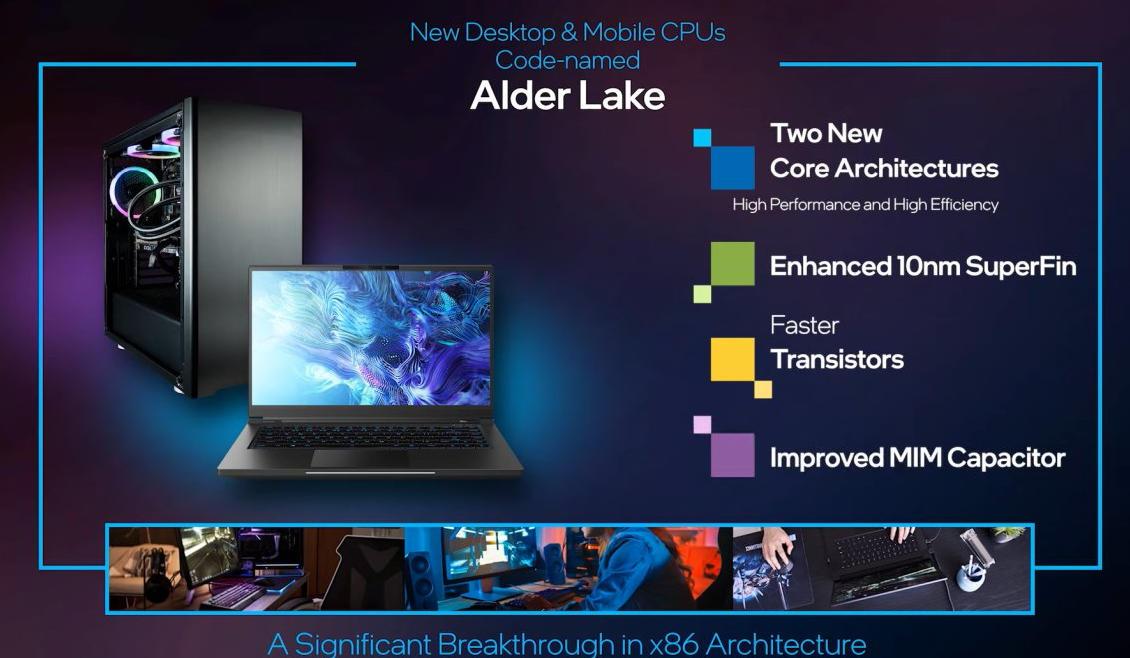 Alder Lake Mobile