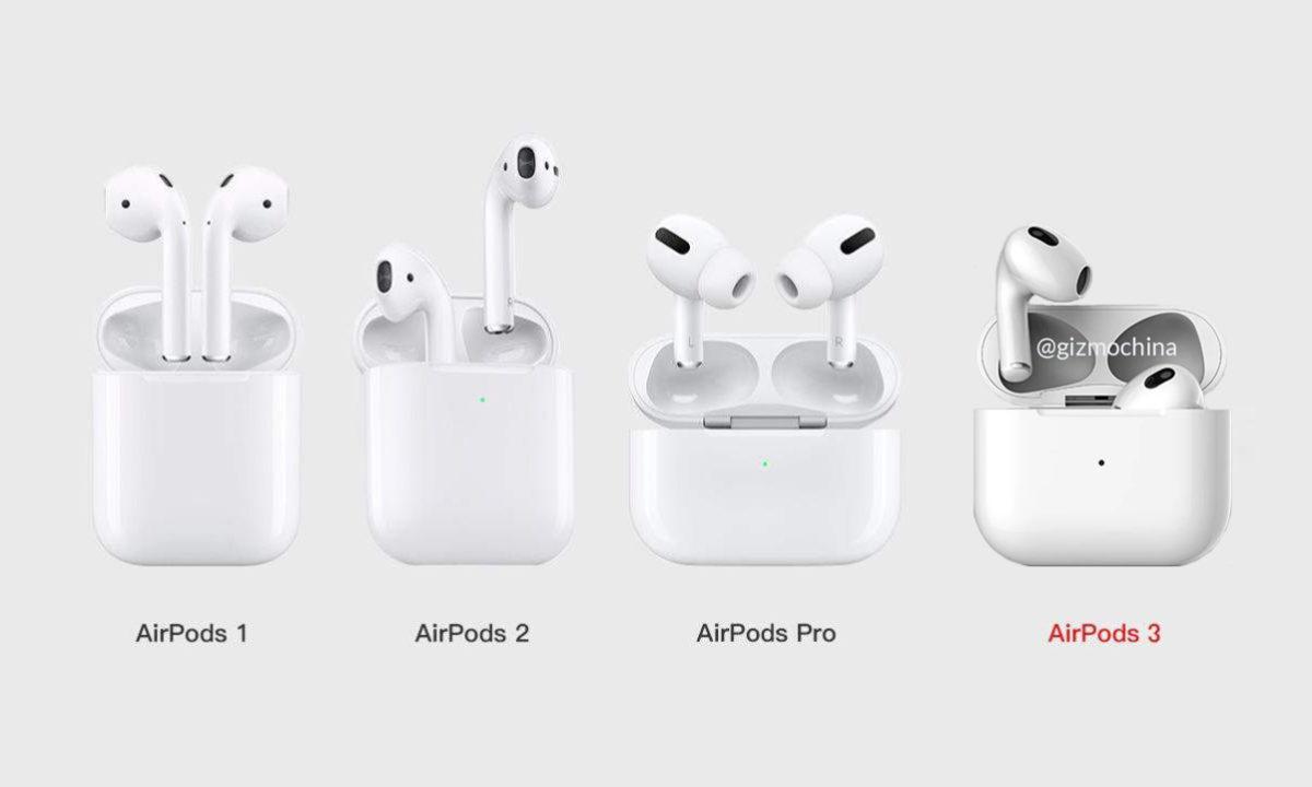 Los Apple AirPods 3 más cerca que nunca, rumores apuntan a un lanzamiento marzo 28