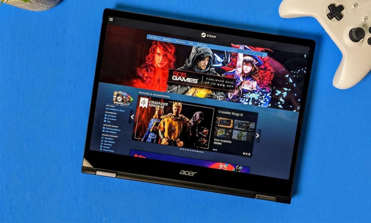 Chrome Os Chromebook Steam Game Mode