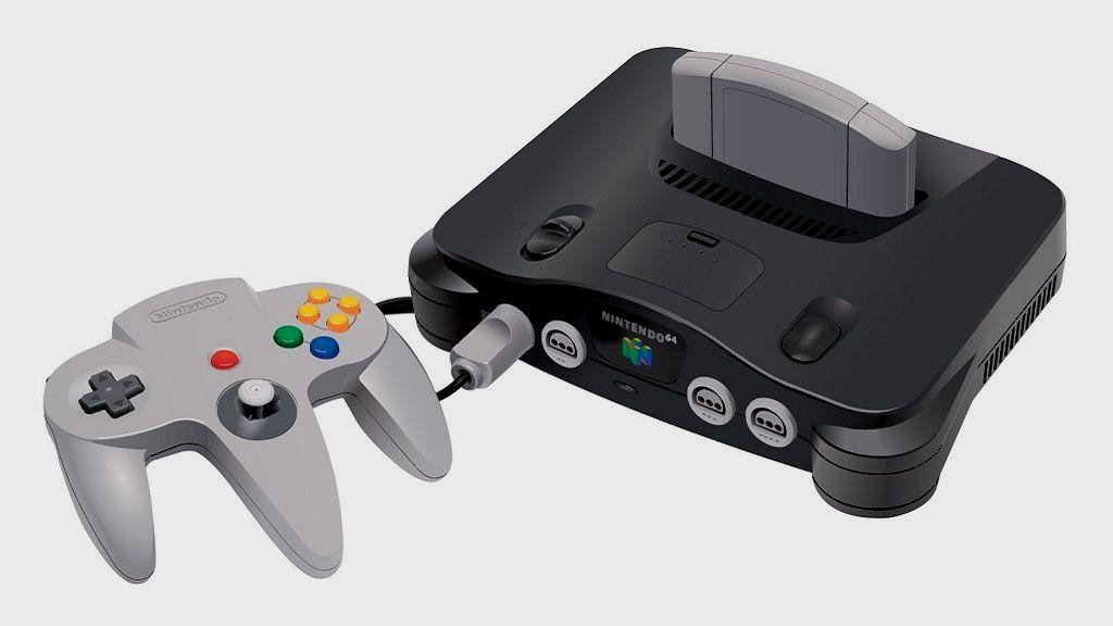 Consola más potente de cada generación Nintendo 64