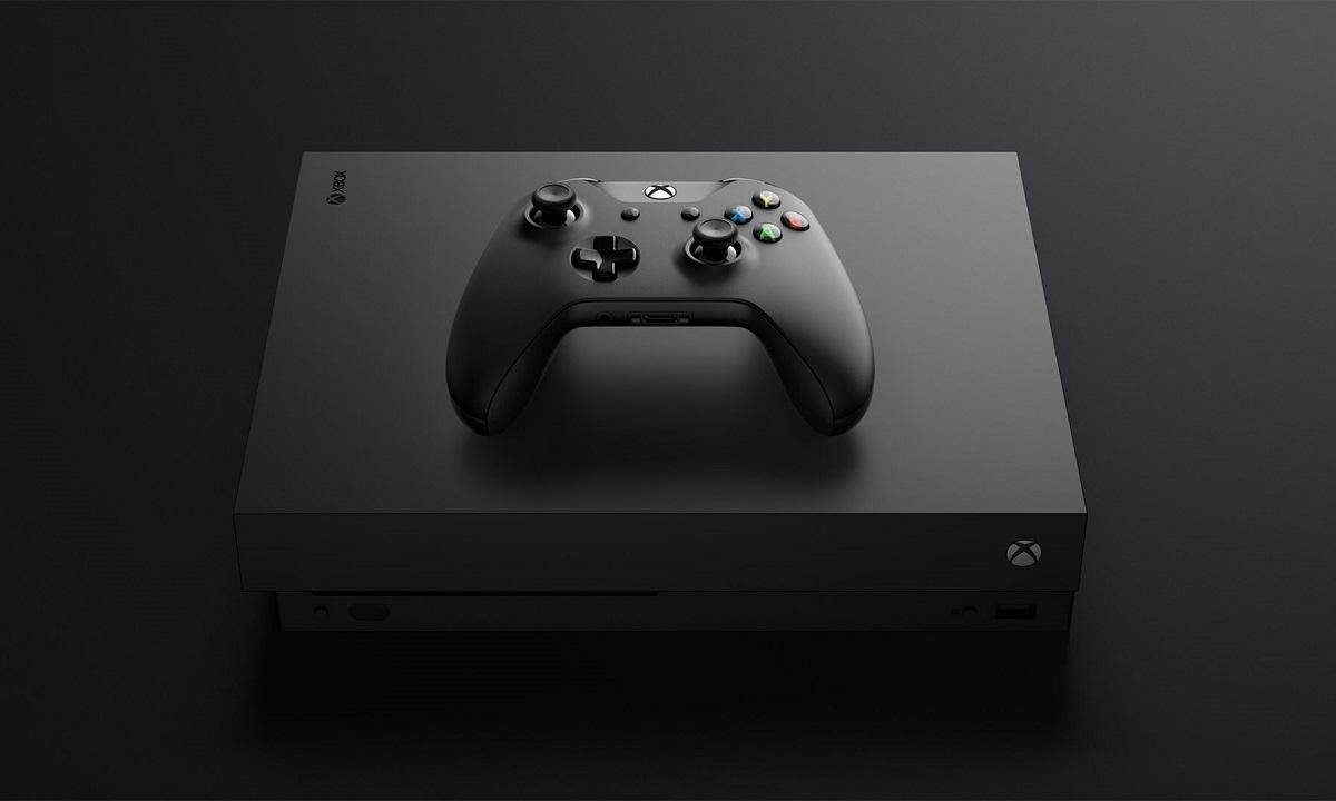 Consola más potente de cada generación Xbox One X