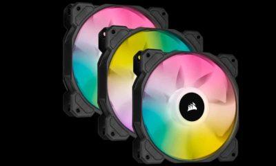 Corsair iCUE SP RGB Elite: ventilación inteligente