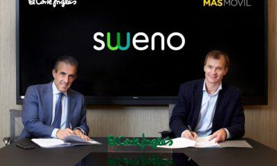 El Corte Inglés y MASMOVIL lanzan un operador virtual de móvil y fibra bajo la marca Sweno 2
