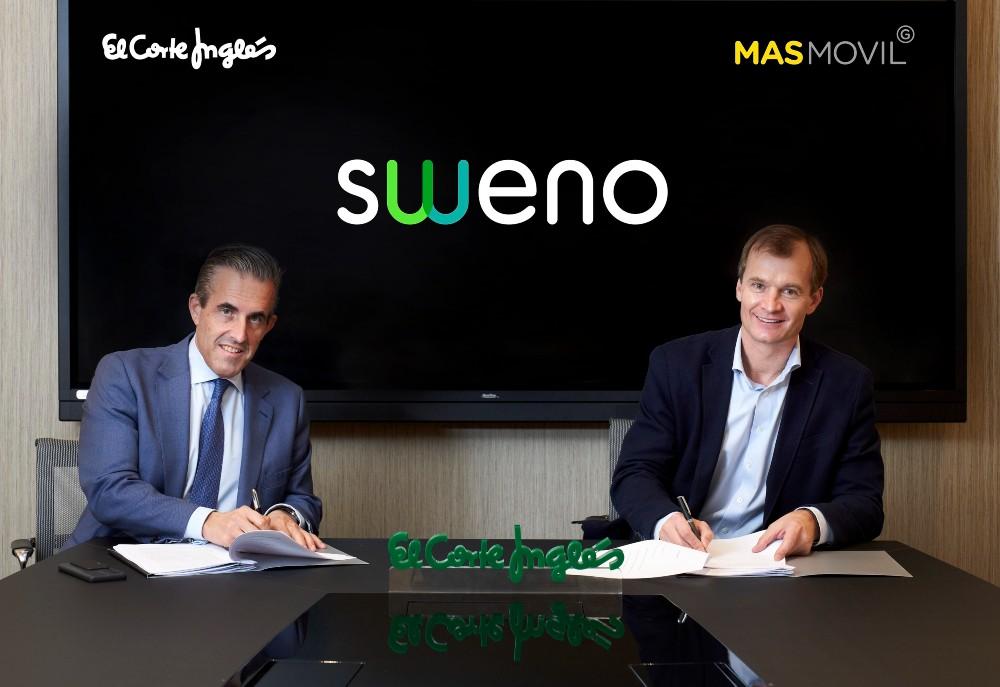 El Corte Inglés y MASMOVIL lanzan un operador virtual de móvil y fibra bajo la marca Sweno 30